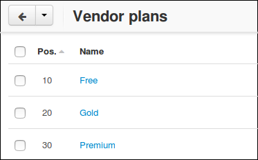 Vendor-specific Shipping Methods