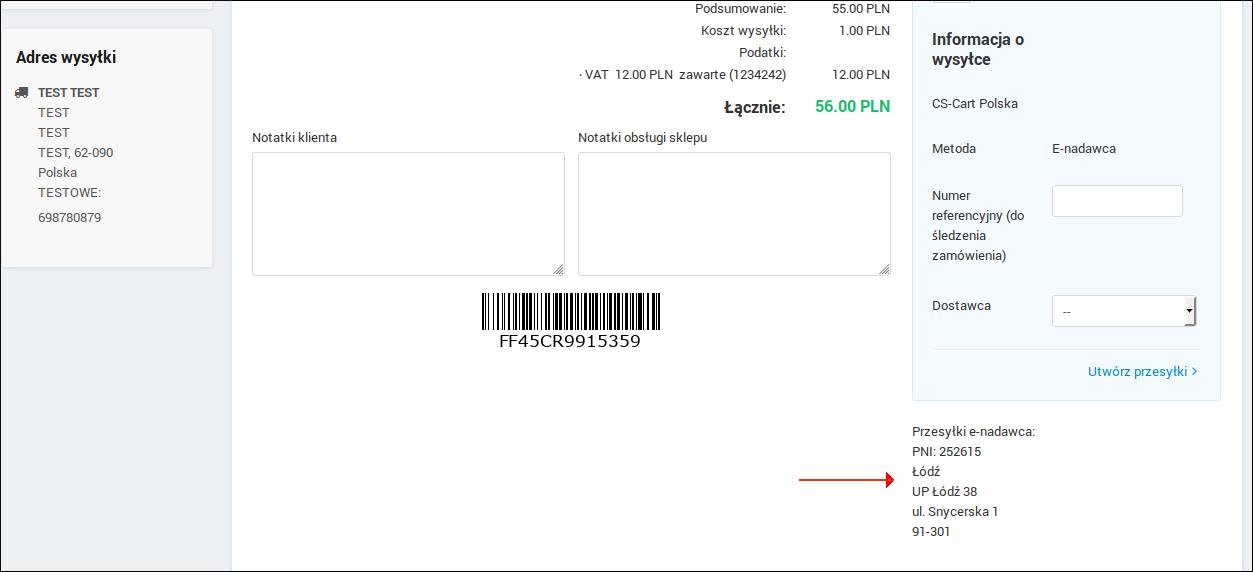 76f5bb1adb76c5 W szczegółach zamówienia można zobaczyć, który punkt wybrał klient: